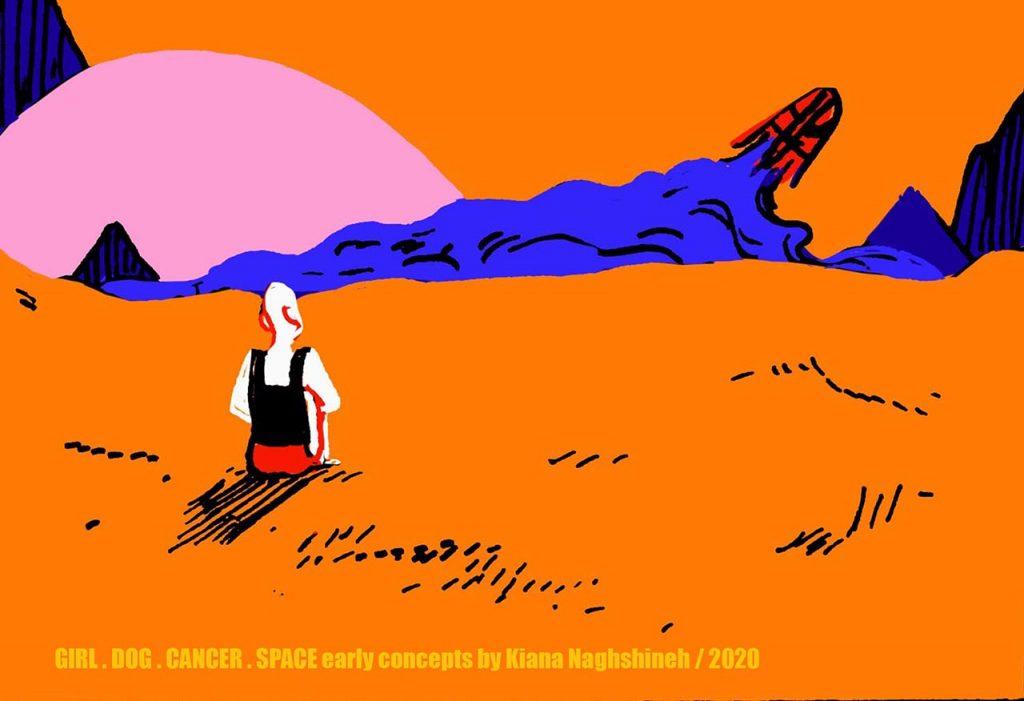 Girl. Dog. Cancer. Space - Kiana Naghshineh